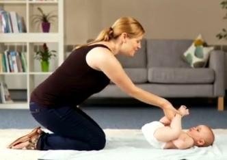 bebek gaz masajı