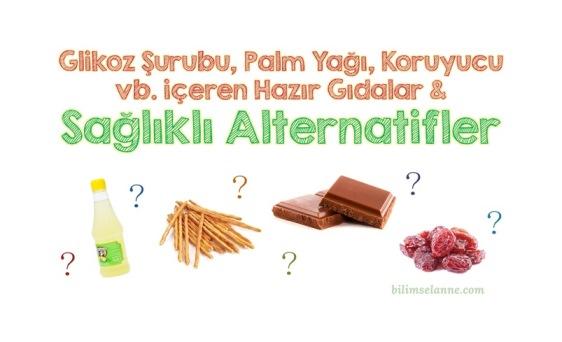 Zararlı Hazır Gıdalar Yerine Sağlıklı Alternatifler